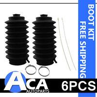 Pair Power Steering Rack & Pinion Bellow Boot Kit Honda Accord Civic ACURA ISUZU