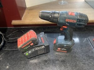 Bosch Drill, Batteries and Charger