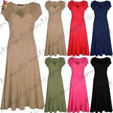 Unbranded Viscose Short Sleeve Skater Dresses for Women