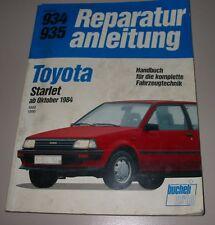 Reparaturanleitung Toyota Starlet 1000 1300 EP 70 / EP 71 ab Oktober 1984!