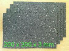 (16,67€/m²)  Antirutschmatten 2 mal 3x200x300 mm Ladungsicherung  Gummi Pads