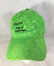 Dale's Lawn & Landscape Green Baseball Hat Cap Adjustable  NEW
