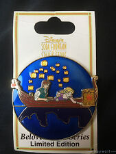 RARE DSF Disney TANGLED BELOVED TALES Flynn Rider & Rapunzel LE 300 Pin HTF