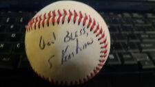 "* SAMMY KERSHAW * rare signed Official League baseball ""The Rajin' Cajin"""