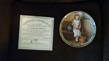 Norman Rockwell Collector Plate A Young Girls Dream w/box - coa
