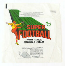 1970 Topps Super Football 10 Cents Wax Wrapper ~ Whale #450 Variation