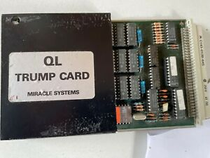 Sinclair QL TRUMP expansion card 768KB ram and floppy port