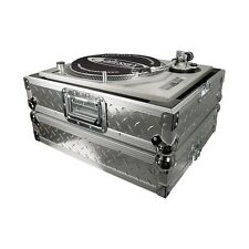Odyssey Ata Diamond Plated Dj Turntable Case Holds 1200 Style Turntables FTTDIA