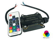 Centralina Led RGB Controller Impermeabile IP65 Telecomando RF Wireless 12V 24V