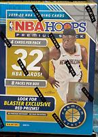 🔥  2019-20 Panini Hoops NBA Premium Stock Blaster Box -Ja Zion Herro Blue NEW🔥