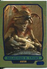 Star Wars Galactic Files Blue Parallel #181 Salacious B. Crumb