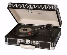 Crosley CR8005D-CB Cruiser Deluxe Record Player with Built In Speaker Chalkboard