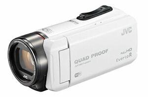 JVC GZ-RX600-W Everio R Waterproof Video Camera 16.4 64 GB Internal Memory White