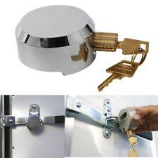 Hidden Shackle Hockey Puck Padlock Van & Trailer Door Lock 73mm +2 Key