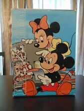 Vintage Walt Disney Characters Photo Album Fujicolor - Rare- Japan - 5 Book Set