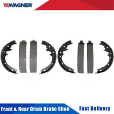 Front & Rear 8 PCS Wagner Drum Brake Shoes 2 Set For CHEVROLET BEL AIR 1951-1958