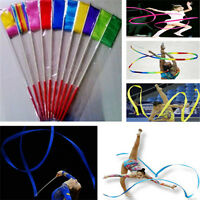 Cool Useful Dance Gym Rhythmic Ballet Streamer Twirling Art Gymnastic Rod Ribbon
