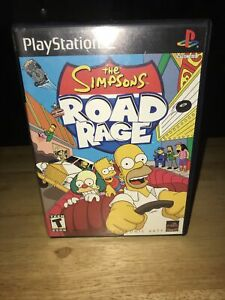 Simpsons Road Rage (Sony PlayStation 2, 2001) Complete