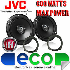 Fiat Stilo 2001-2014 JVC 17cm 6.5 pulgadas 600 Watts 2 vías Puerta Trasera altavoces del coche