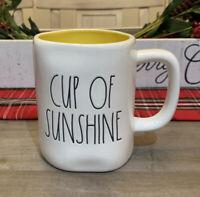 Rae Dunn By Magenta - LL CUP OF SUNSHINE - LL WHITE W YELLOW Interior Coffee Mug
