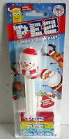 CHRISTMAS  Pez Dispenser SNOWMAN [Carded]