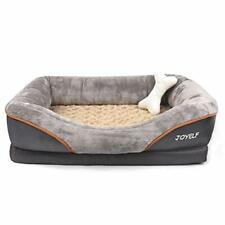 JOYELF Medium Memory Foam Dog Bed, Orthopedic Dog Bed & Sofa with Removable
