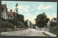 Postcard Atherstone near Nuneaton Warwickshire early Entrance to Long Street