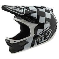 Troy Lee Designs D3 Helmet TLD BMX MTB DH Downhill Gear Fiberlite SpeedCode Gray