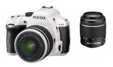 "Pentax k-50 [16mp, Full HD, 3""] bianco incl. perché 18-55mm 1:3,5-5,6 al WR + poiché 50-S"
