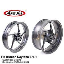 Front Rear Wheel Rims For Triumph Daytona 675 R Street Triple 675R 2013 2015 14