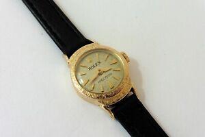 1960s LADIES 18K GOLD ROLEX PRECISION REF.9285 WRISTWATCH IN EXCELLENT CONDITION