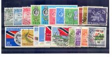 TRINIDAD & TOBAGO 1958-67 COMMEMORATIVE SETS/ISSUES x 8 FINE USED