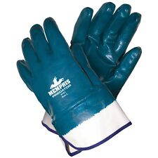 MCR 9761 LARGE  PREDATOR NITRILE GLOVES FULLY COATED SAFETY CUFF 1 DZ
