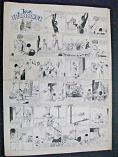Derambure Paul Planche originale de Jean Francoeur TBE