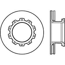 Disc Brake Rotor-Premium Disc - Preferred Front,Rear Centric 120.86007