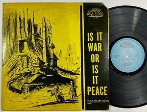"Fatman Riddim Section ""Is It War Or Is It Peace"" Reggae LP Top Ranking Int'l"