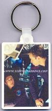 MINT Star Trek: Enterprise KEYRING - MALCOLM REED & TRIP TUCKER in Engineering!