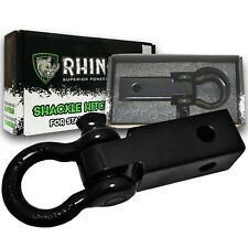 RHINO USA D-Ring Shackle Hitch Receiver - Best Towing Accessories Jeeps / Trucks