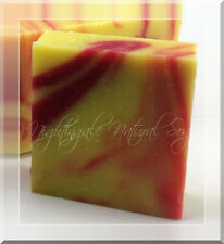 Monkey Farts Natural Soap Banana Strawberry One Large Soap Bar Organic Shea