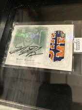 Matt Harvey 2015 Topps Dynasty autograph auto patch Mets /5 All Star Game