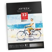 "Arteza Expert Watercolor Pad 9"" x 12"" Open Stock"