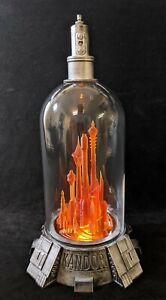Superman - Bottle City of Kandor - 280mm high USB illuminated 3D printed model