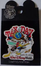 Disney Pin WDW Tax Day 2004 Donald Duck Le 2500