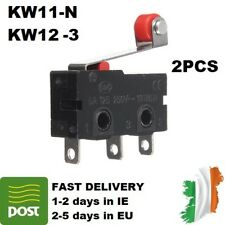 2pcs KW12-3 Micro Limit Switch Roller Lever 5A 125-250V Open/Close Switch KW11-N