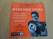 """WEST SIDE STORY 7""""  PICTURE SLEEVE 7EG 8429"""