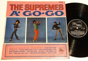 THE SUPREMES - A Go-Go  - UK LP mono TML11039 1966 TAMLA MOTOWN