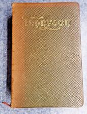 The Poetical Works of Alfred, Lord Tennyson * Leather 1900 Crowell * Poems *