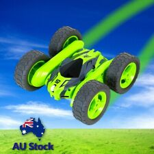 Remote Control 360° Rotate Double Side 1:18 Scale RC Stunt Car 4WD Kids Toy