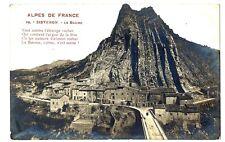 CPA 04 Alpes de Haute-Provence Sisteron La Baume Carte-photo