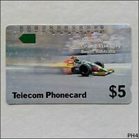 Telecom Adelaide Grand Prix City SA T2C2-3 19 $5 Phonecard (PH4)